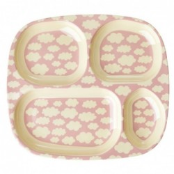 Bracelet Jonc Licorne - Rose clair transparent