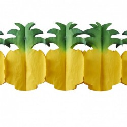 Bracelet quartz et résine Rice orange/marine