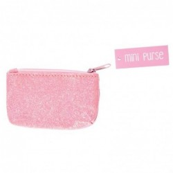 Bracelet quartz et résine Rice fuchsia/orange