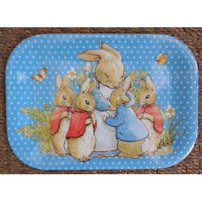 Peter Rabbit : petit plateau en mélamine