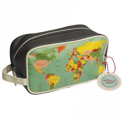 Trousse de toilette World Map