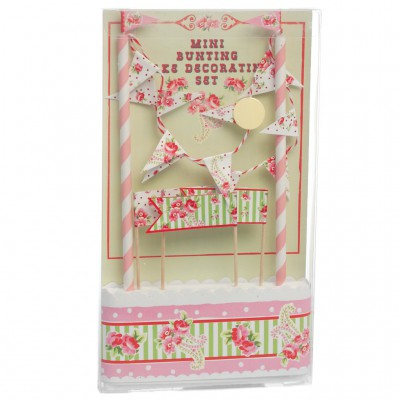 Kit de décoration de gâteau Paisley Rose