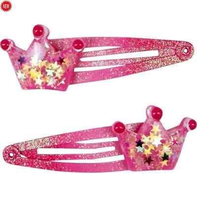 Barrettes de princesse à paillettes