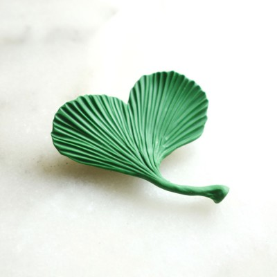 Broche Gingko 1