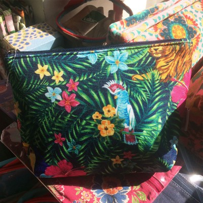 Cosmetic bag Tropical
