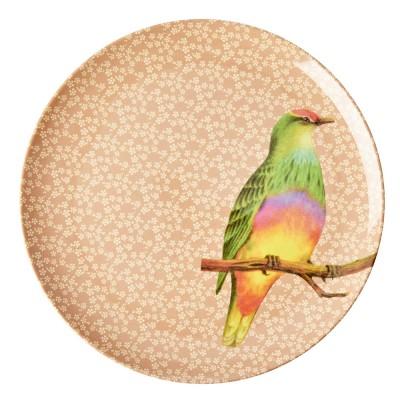 Grande assiette Oiseau...
