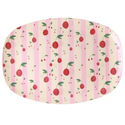 Assiette rectangulaire RICE...