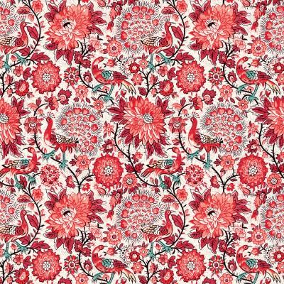 20 serviettes Pavone rosso