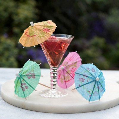 24 parapluies cocktail