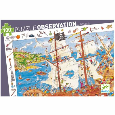 Puzzle observation : Pirates