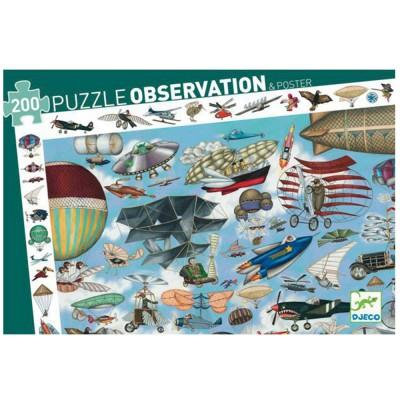 Puzzle observation : Aéro club