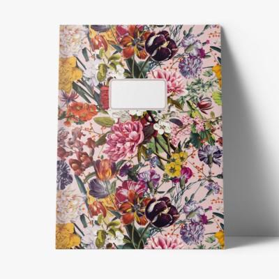 Cahier A4 Grandes fleurs