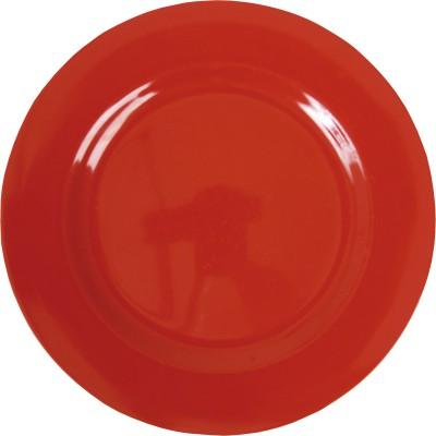 Assiette plate en mélamine red
