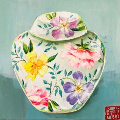 SA175 - Petit pot aux fleurs