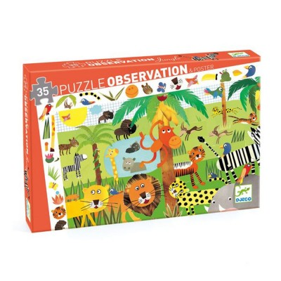 Puzzle observation La jungle