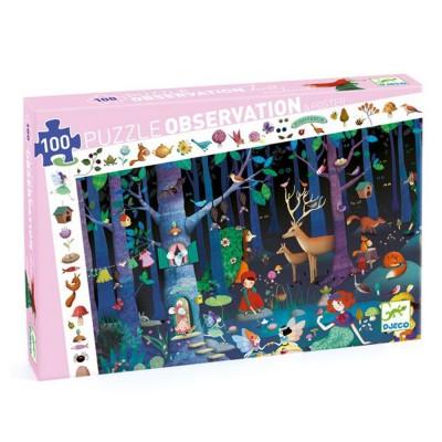 Puzzle observation La forêt...