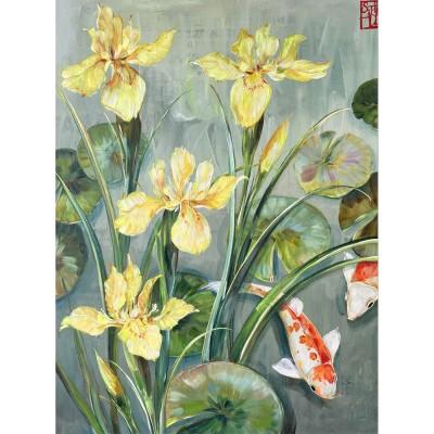 SA195 - Les iris d'eau