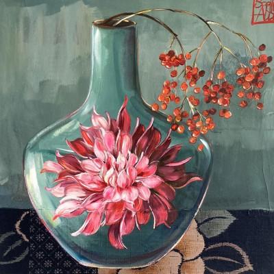 SA209 - Le vase aux baies