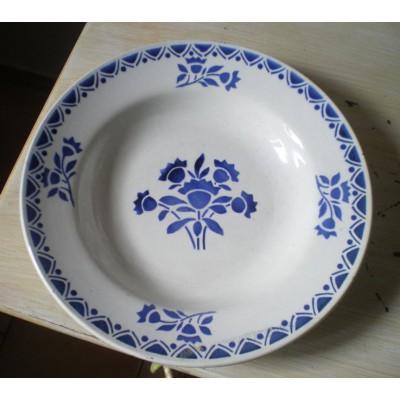 Assiette creuse Saint Amand