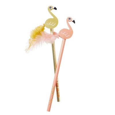 Crayon à papier avec gomme Flamingo Pink