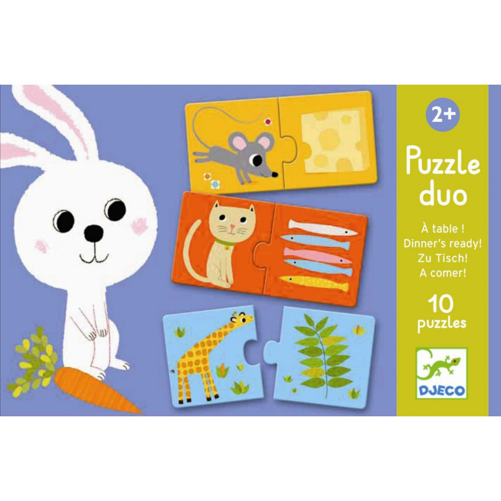 Puzzle duo A table !