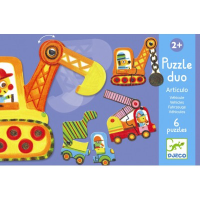 Puzzle duo Articulo véhicules