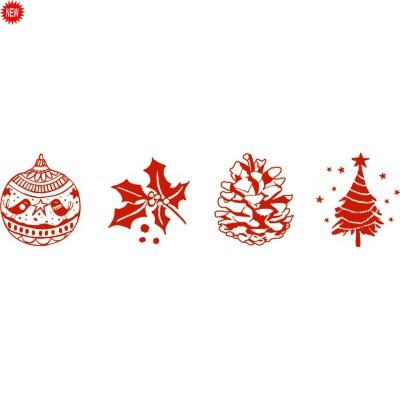 Tampons de Noël