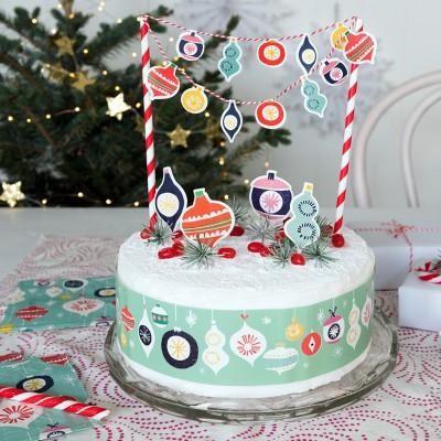 Kit de décoration de gâteau...
