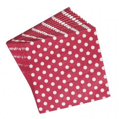 20 serviettes en papier Retrospot