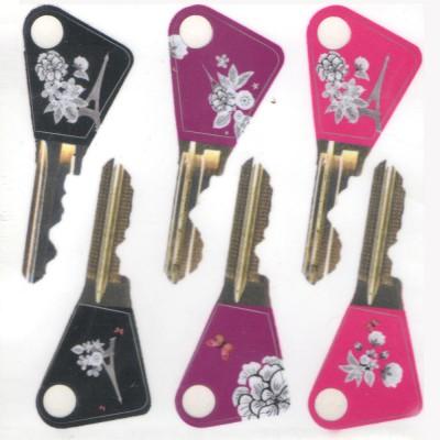 Stickers pour clés en...
