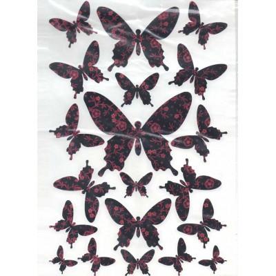 Envolée de papillons...