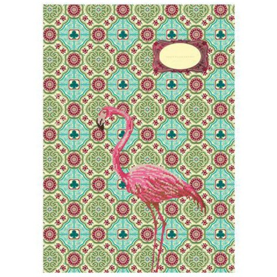 Carnet GM Flamant rose