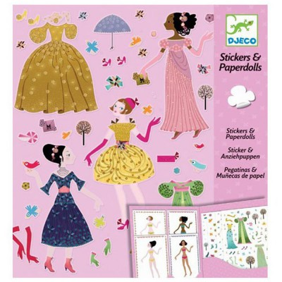 Stickers et Paperdolls...