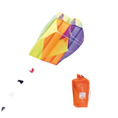 Cerf-volant de poche orange