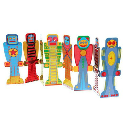 Marque page Robots Mon...
