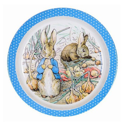 Peter Rabbit : assiette...