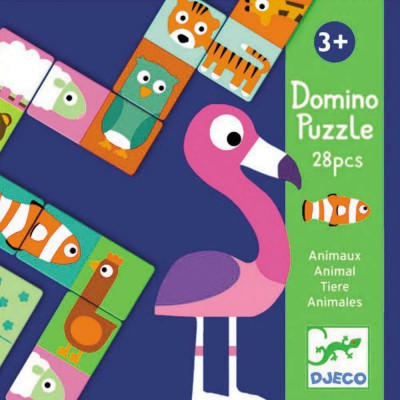 Domino-puzzle animaux