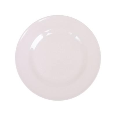 Assiette à dessert en mélamine Rice white