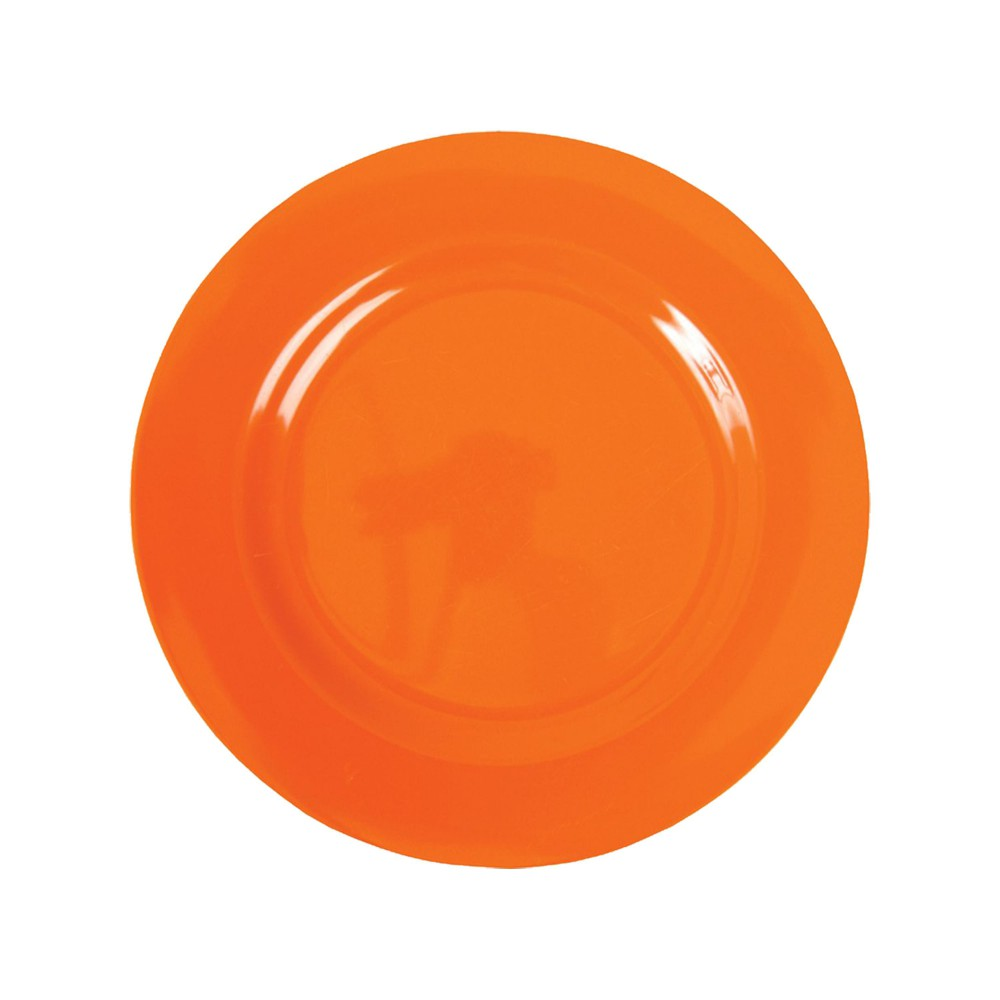 Assiette à dessert en mélamine Rice orange