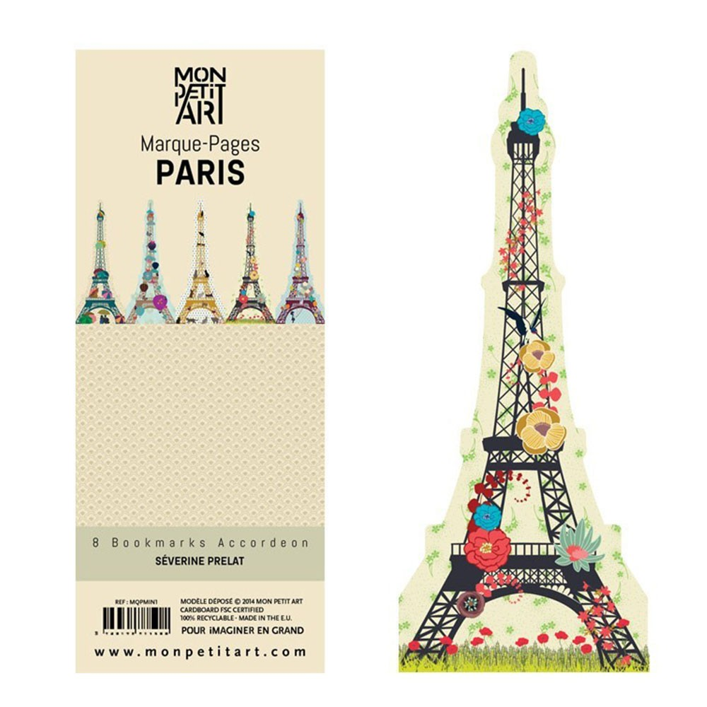 Set De Marque Page Paris
