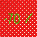 -70 %